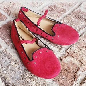 Girls red dress shoes sz 11